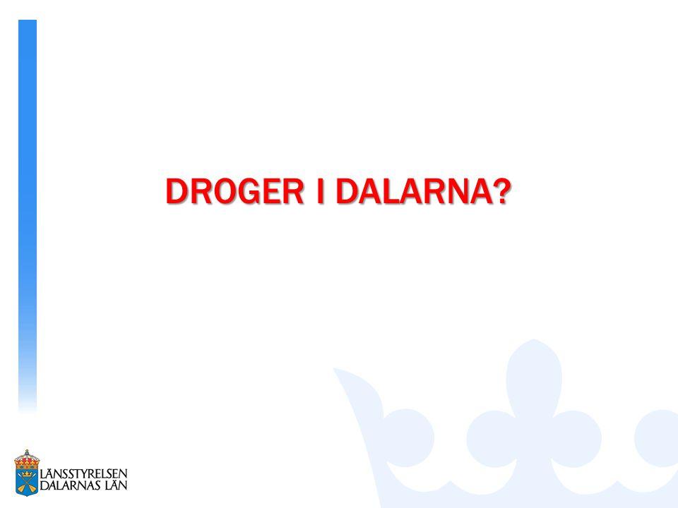 DROGER I DALARNA?
