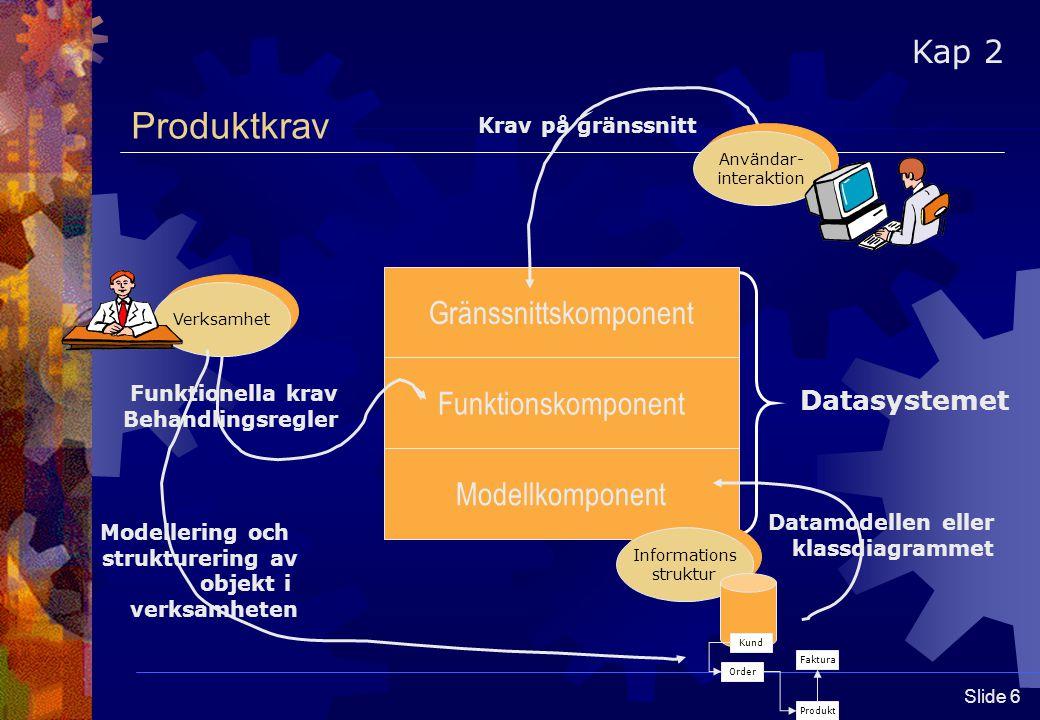 Slide 7 Versionshantering  Varför versionshantering.