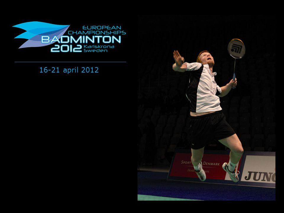 Välkommen till 2012 European Badminton Championships i Karlskrona!