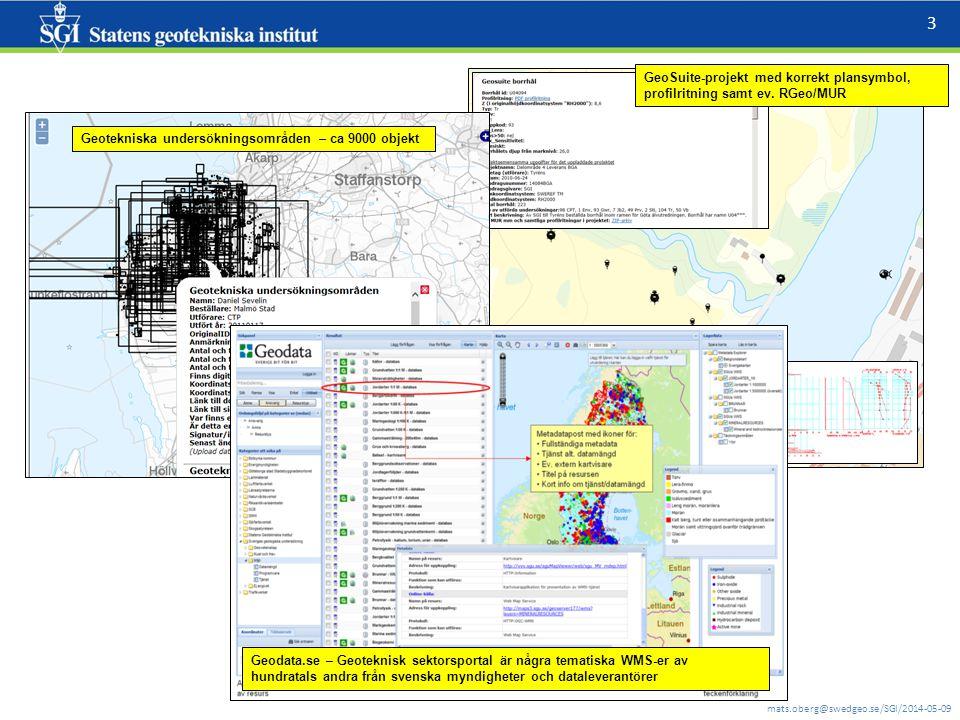 mats.oberg@swedgeo.se/SGI/2014-05-09 3 GeoSuite-projekt med korrekt plansymbol, profilritning samt ev. RGeo/MUR Geodata.se – Geoteknisk sektorsportal