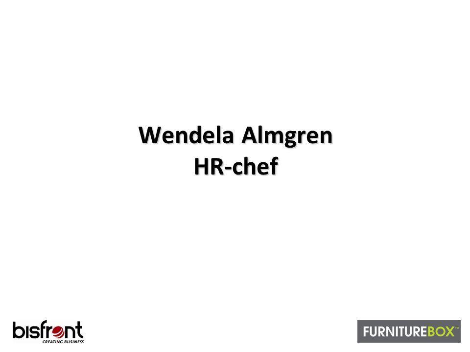 Wendela Almgren HR-chef
