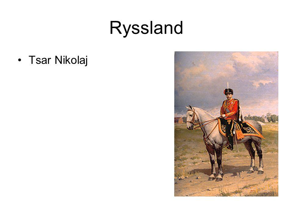 Ryssland Tsar Nikolaj