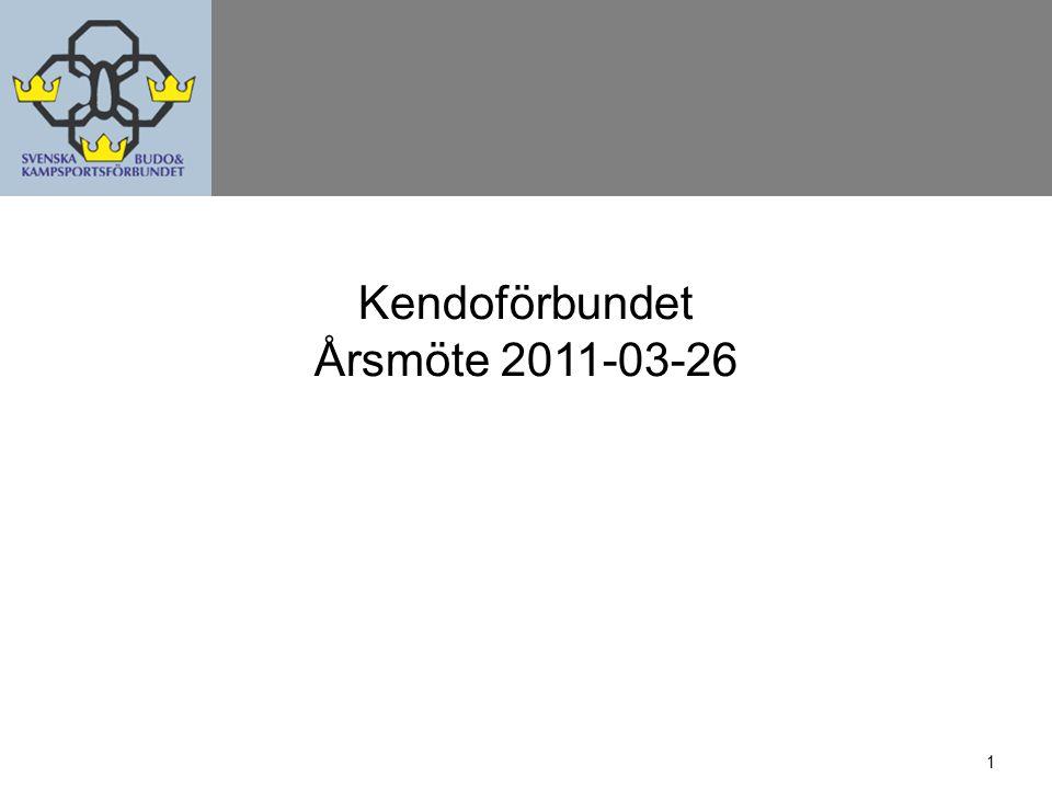 12 Verksamhetsplan 2010 - Utfall Kyudo Utbildning –Arrangera två Nationella seminarier och stödja deltagande - OK –Deltaga i IKYF:s seminarier i Japan - OK –Deltaga i EKF:s eventuella seminarier - OK (Gradering) –Seminarieutbyte med föreningar i Norge - OK –Instruktörsutbildning - NEJ Landslag - VM i Japan –Träningsläger - OK –Uttagningstävlingar - OK –Deltaga individuellt och i lag - OK Ingå i Budo-SM - OK Stödja kyudo utanför Stockholm - OK (Utrustning) Marknadsföring –Uppvisningar på offentliga platser - OK –Presentationer i skolor - NEJ