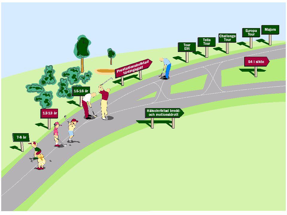 Konkurrens om golfarna  Arbetet och familjen  Andra fritidsaktiviteter  Fler öppna golfbanor  Begränsat antal golfare.