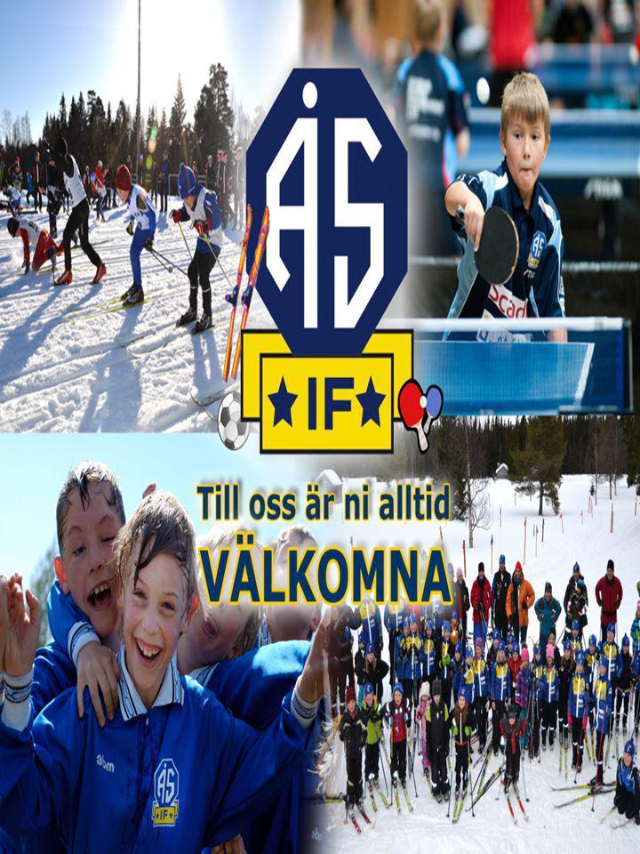 Historia och Organisation Ås IF bildades 1921 och är en flersektionsförening, idag med Bordtennis, Längdåkning och Fotboll.
