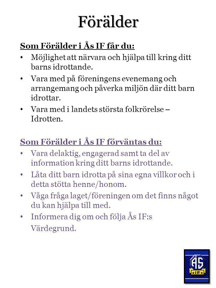 Välkommen till Ås IF:s Idrottsfamilj .