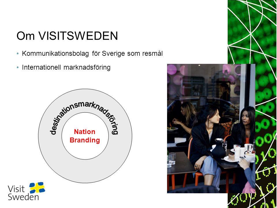 Sv Topp 10 huvudsyften med semesterresan till Skandinavien (jämfört med semesterresor utomlands generellt) Källa: Målgruppsanalyser VisitSweden 2011/GfK