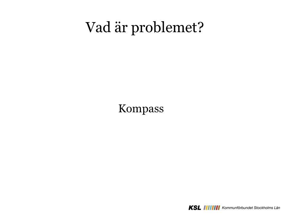 Vad är problemet? Kompass