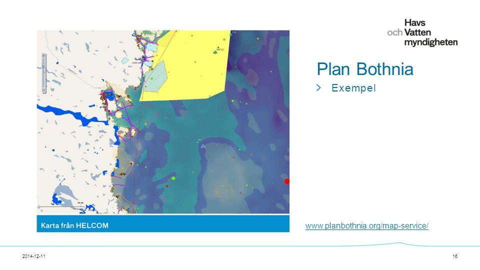 För att ändra/uppdatera/ta bort Presentationsnamn och Namn i foten, gå in på Infoga - Sidhuvud/sidfot 2014-12-1116 Plan Bothnia Exempel www.planbothnia.org/map-service/