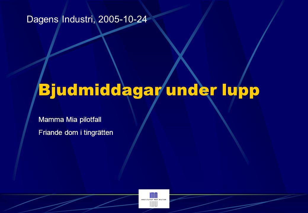 svt.se - Nyheter, 2006-08-18 Privatperson med koppling till it-företag bjöd kommunalråd på safari Vänskapsgåva eller för tjänsteutövning.