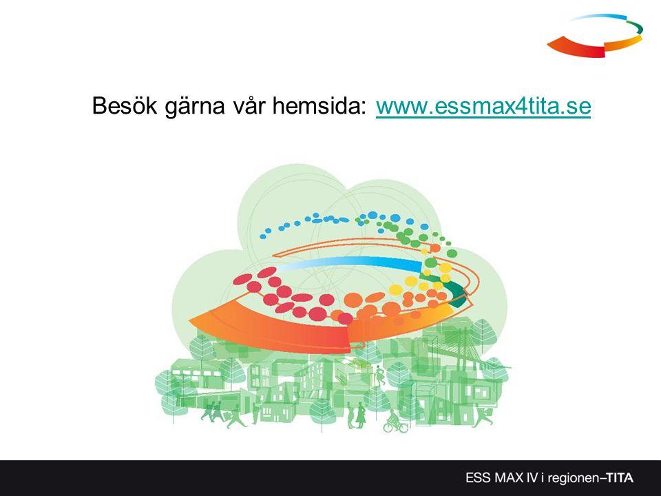 Besök gärna vår hemsida: www.essmax4tita.sewww.essmax4tita.se