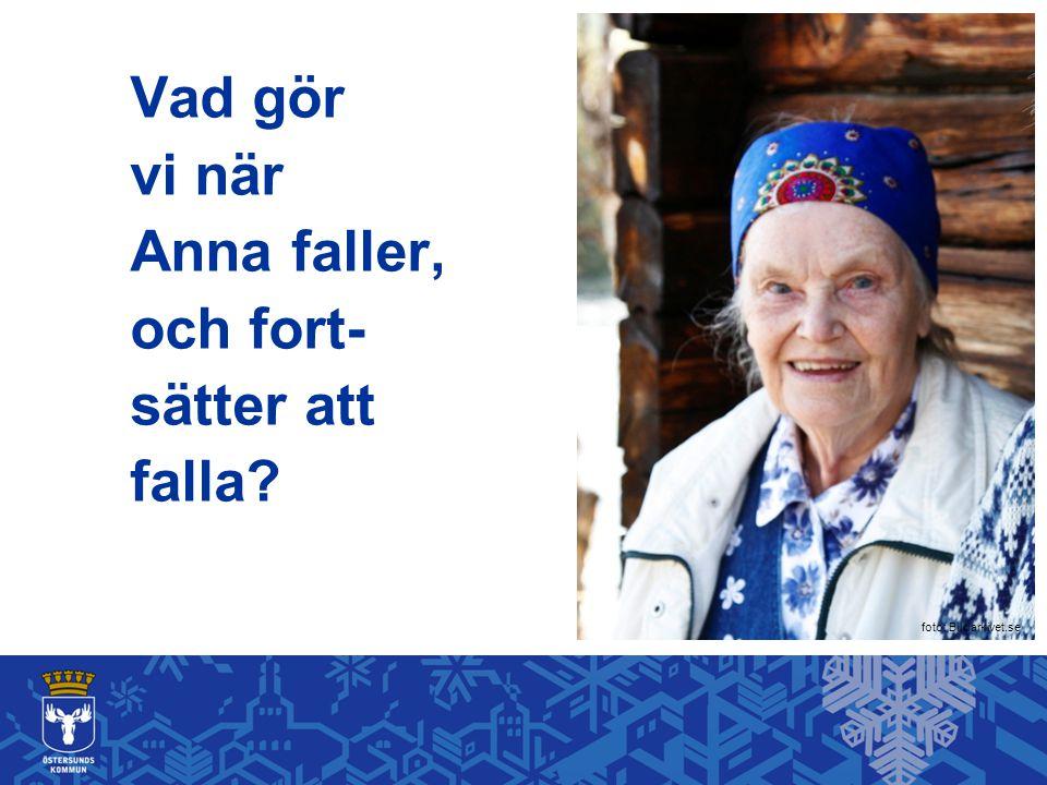Vad gör vi när Anna faller, och fort- sätter att falla? foto: Bildarkivet.se