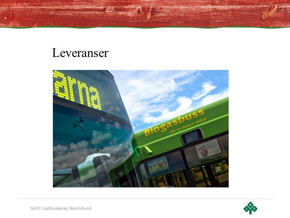 Sid 8 | Lantbrukarnas Riksförbund Leveranser