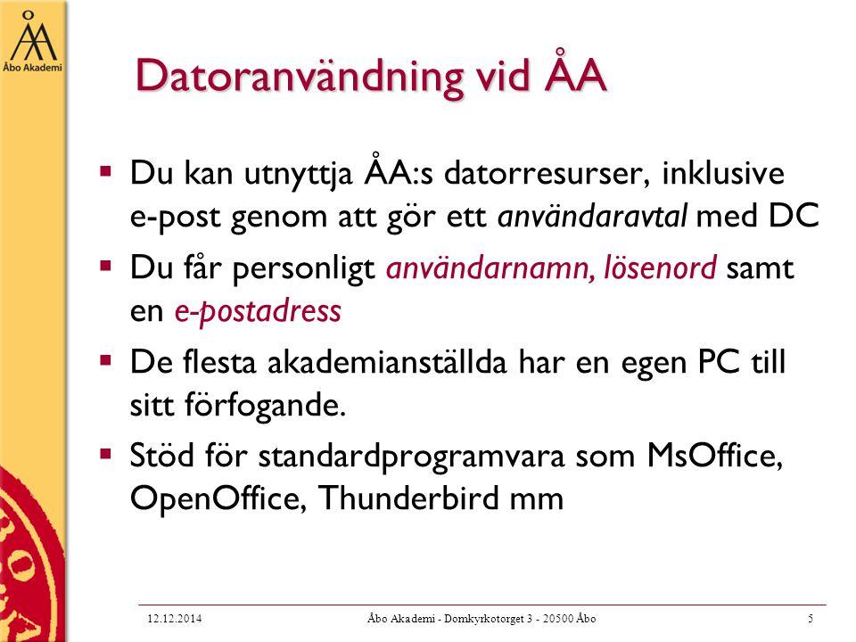 Tjänste-e-post  Rekommenderas att en tjänsteadress används då det är möjligt  T.ex.