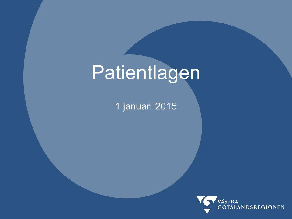 Patientlagen 1 januari 2015