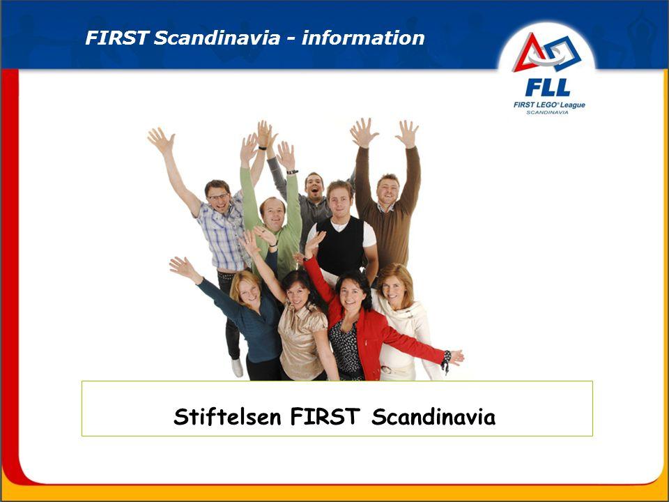 Stiftelsen FIRST Scandinavia FIRST Scandinavia - information
