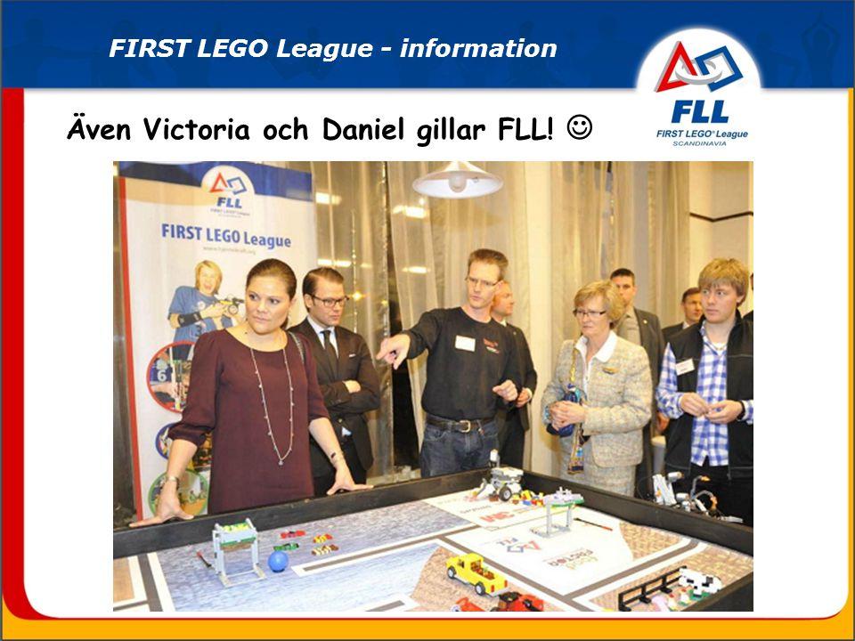 FIRST LEGO League - information Även Victoria och Daniel gillar FLL!