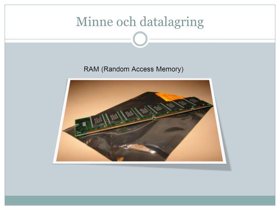 Ordlista BIOS:  (Basic Input Output System) lågnivårutiner i datorns ROM – minne.