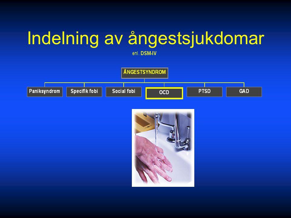 Behandling Information Information SSRI, MAOI (moklobemid) SSRI, MAOI (moklobemid) KBT KBT