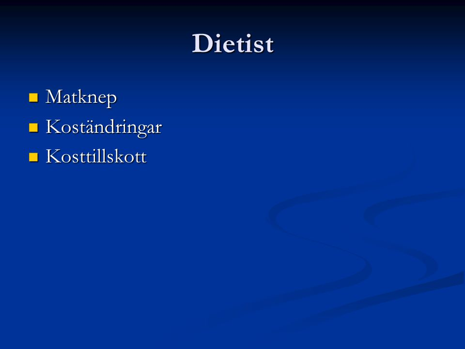 Dietist Matknep Matknep Koständringar Koständringar Kosttillskott Kosttillskott
