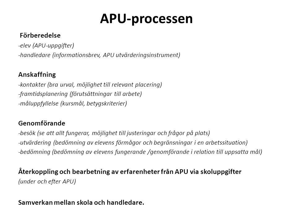 APLutvärdering Bild/exempel