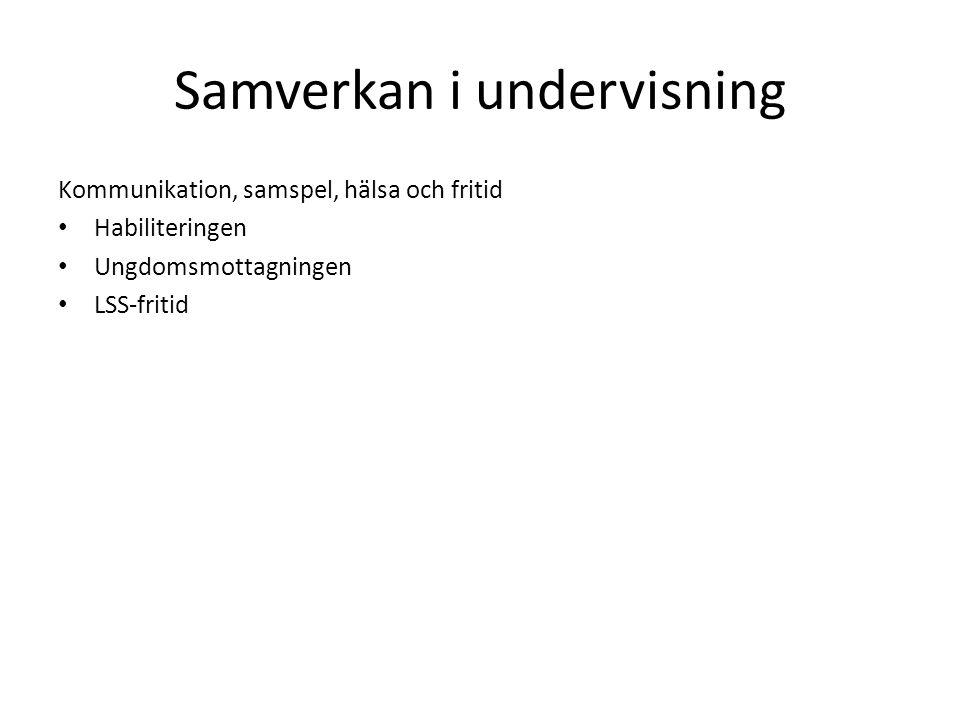 Före Gymnasise- särskolans start Åk 1Åk 2Åk 3Åk 4Efter skolslut Överlämning från grundskolan Sammanfattning Av underlaget som ligger till grund för mottagandet + ev.