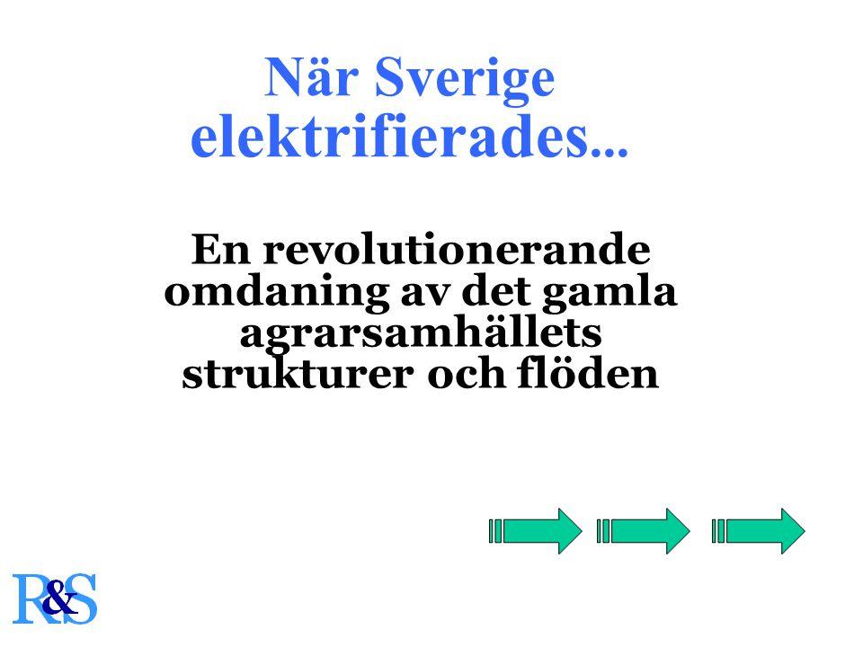 När Sverige elektrifierades...