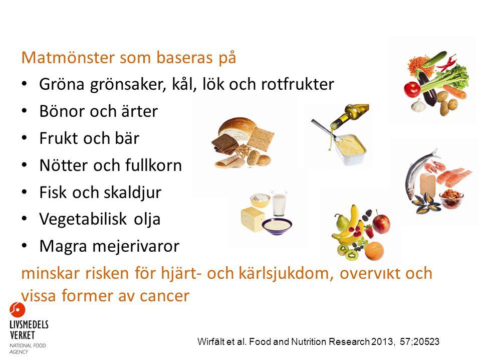 Andra viktiga råd Mindre godis, glass, bakverk och läsk Mindre salt Mer fysisk aktivitet