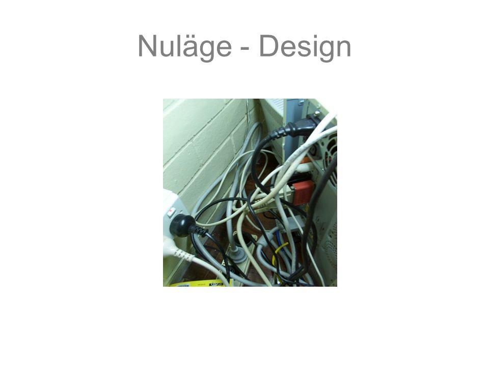 Nuläge - Design