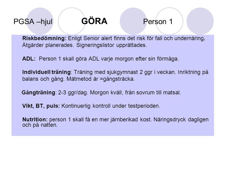 G Ö R A person 2 period v.44 /2012 – v.
