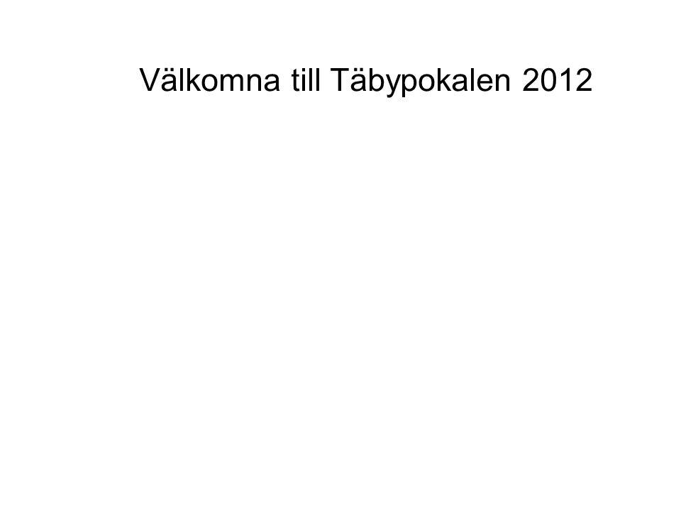 Välkomna till Täbypokalen 2012
