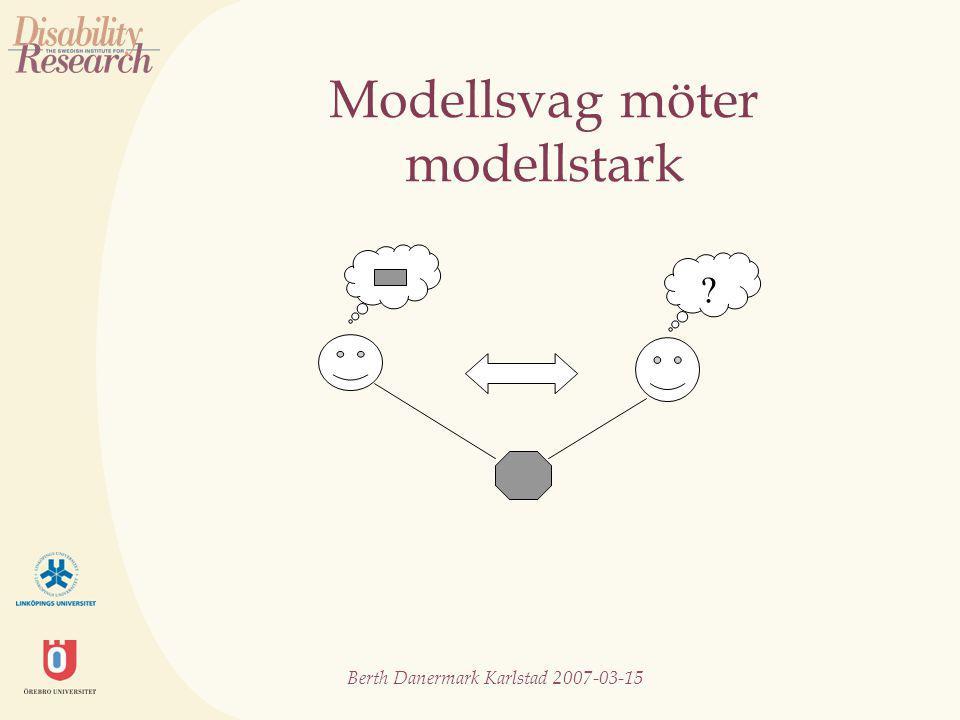 Berth Danermark Karlstad 2007-03-15 Modellsvag möter modellstark