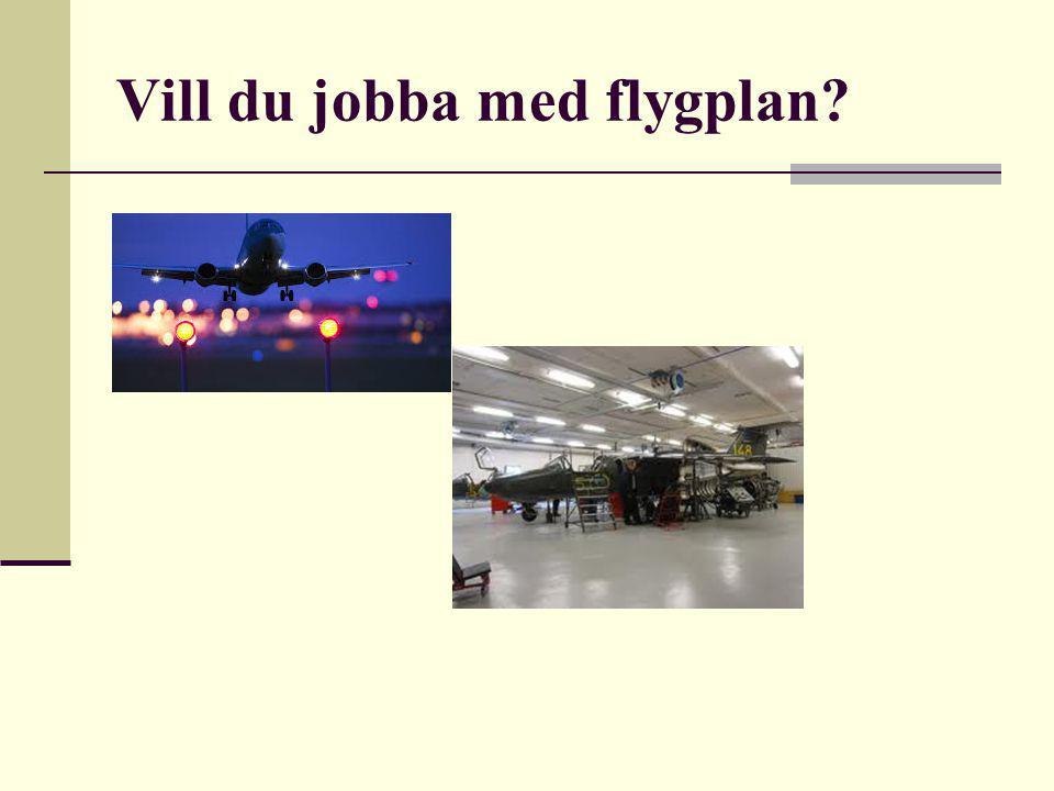 Vill du jobba med flygplan?