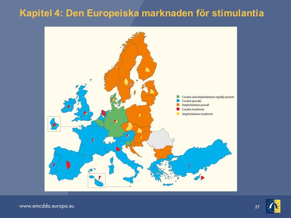 27 Kapitel 4: Den Europeiska marknaden för stimulantia