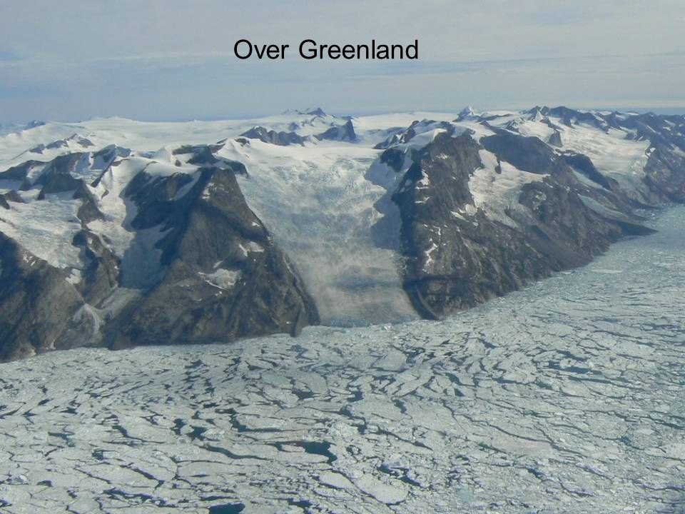 15 mars Over Greenland