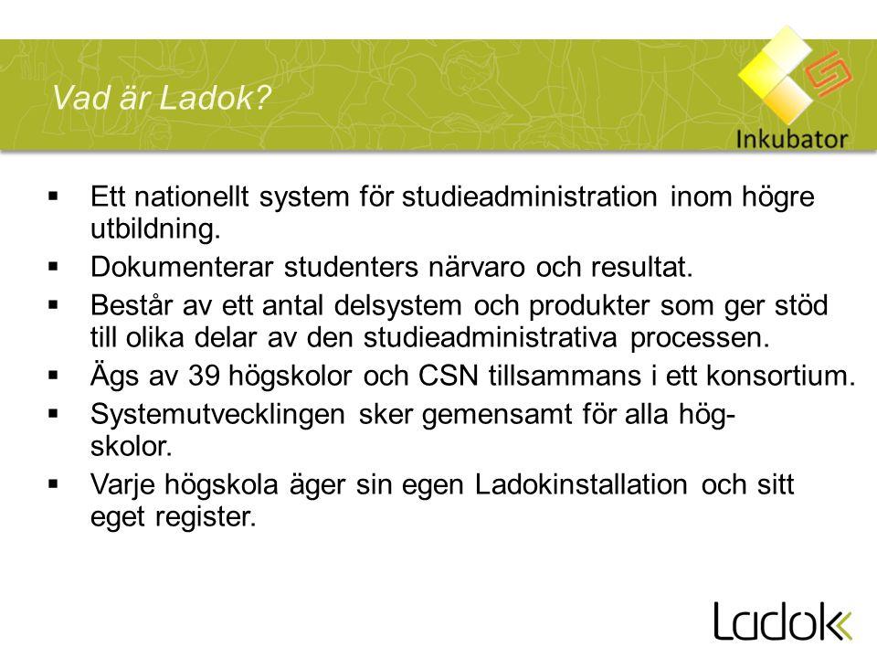 Ett nationellt system för studieadministration inom högre utbildning.