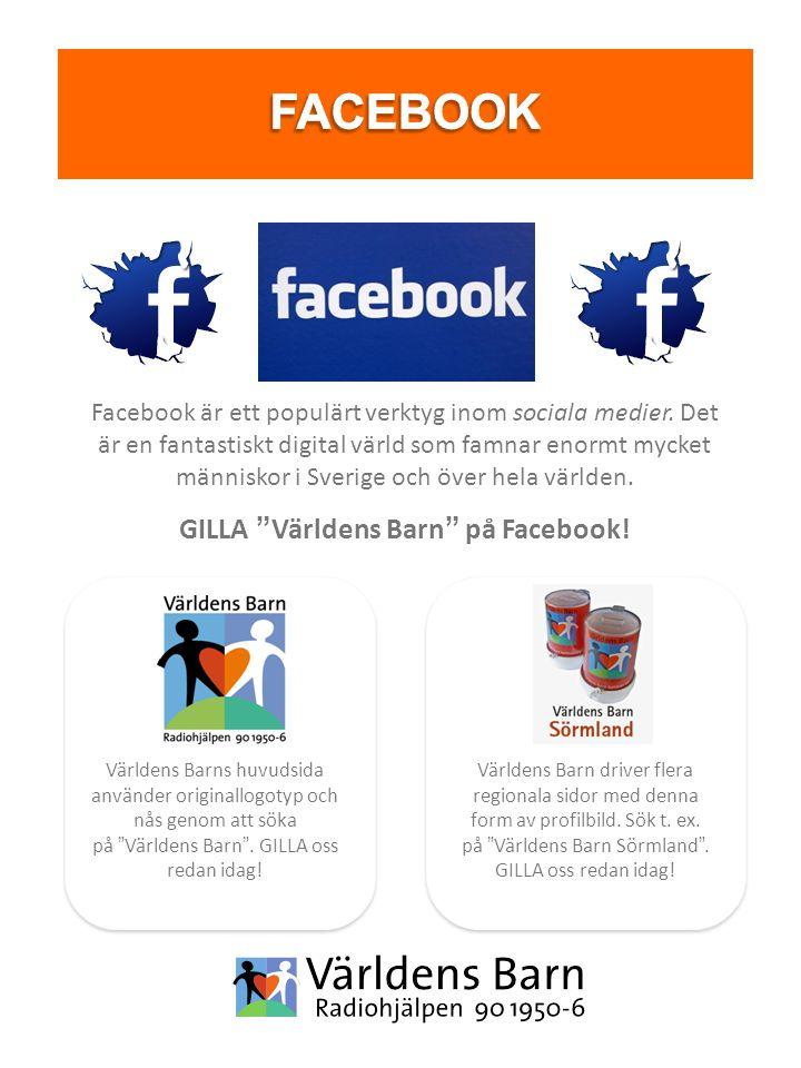 Facebook är ett populärt verktyg inom sociala medier.