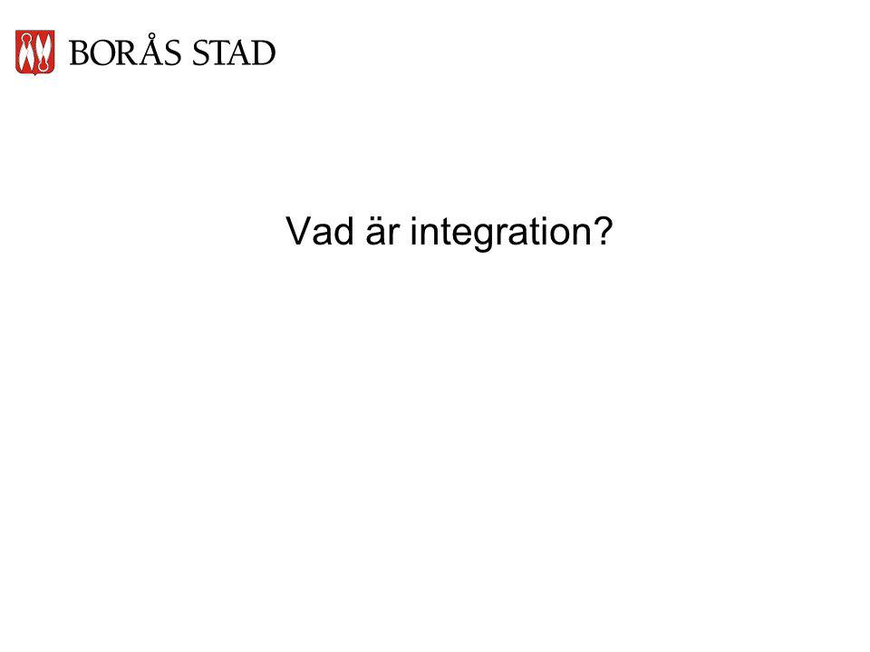 Vad är integration?