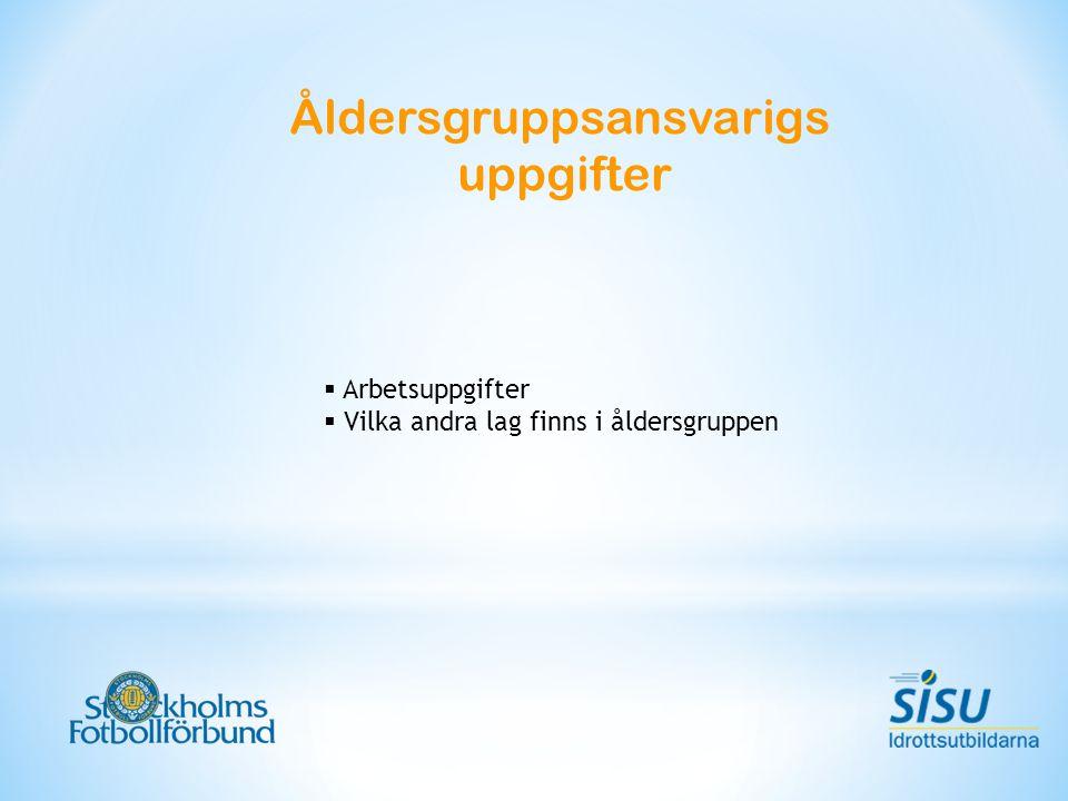 Spelåret 2012 – S:t ERIKS-CUPEN Nyheter från Stockholms Fotbollförbund 2012 Inga tabeller före 13 års ålder Inga värvningar före 14 års ålder Start- & Spelgaranti i S:t ERIKS-CUPEN