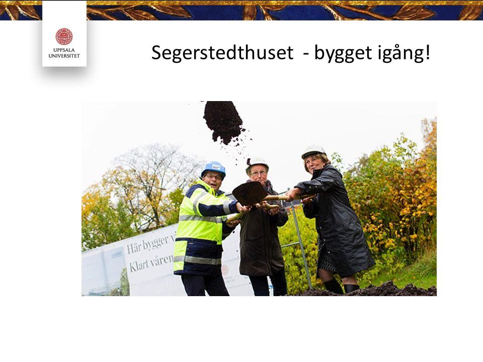 Segerstedthuset - bygget igång!