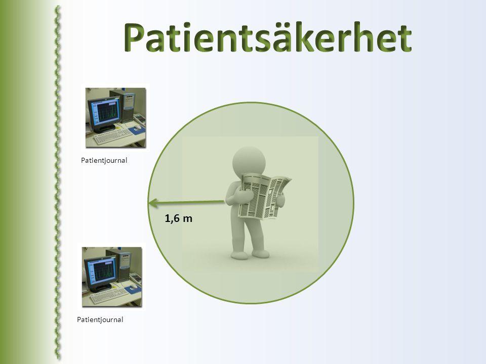 1,6 m Patientjournal