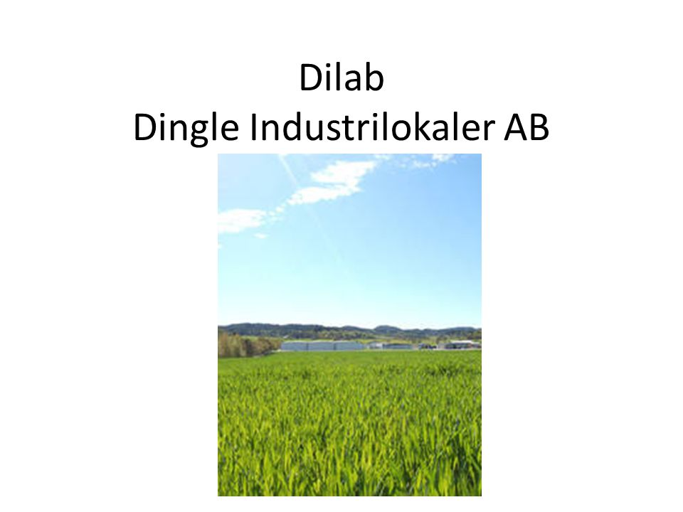 Dilab Dingle Industrilokaler AB