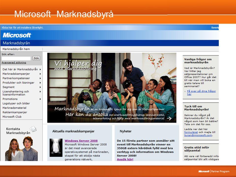 Microsoft Marknadsbyrå