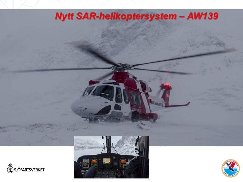 Nytt SAR-helikoptersystem – AW139