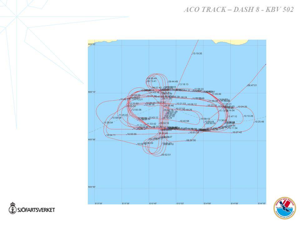ACO TRACK – DASH 8 - KBV 502