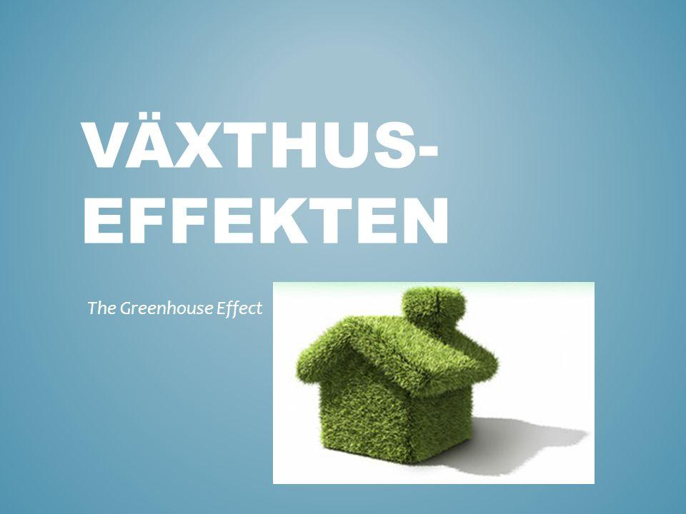 Olika scenarion om växthuseffekten fortsätter.