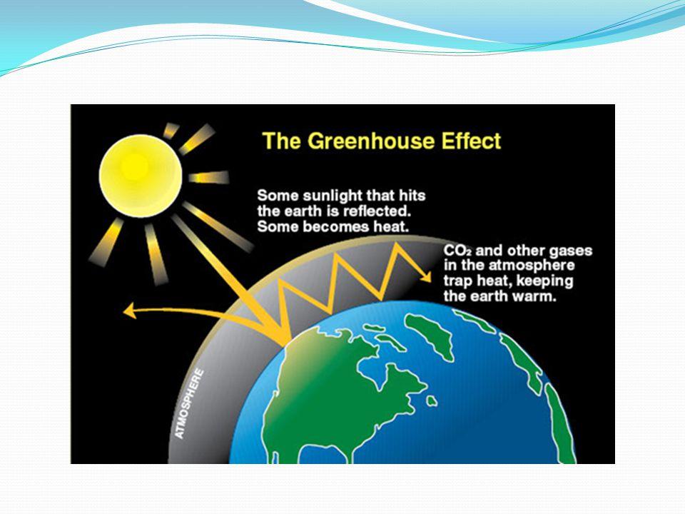 En förstärkt växthuseffekt Klimatfrågan handlar om den förstärkta växthuseffekten.