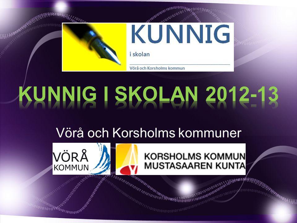Vörå och Korsholms kommuner