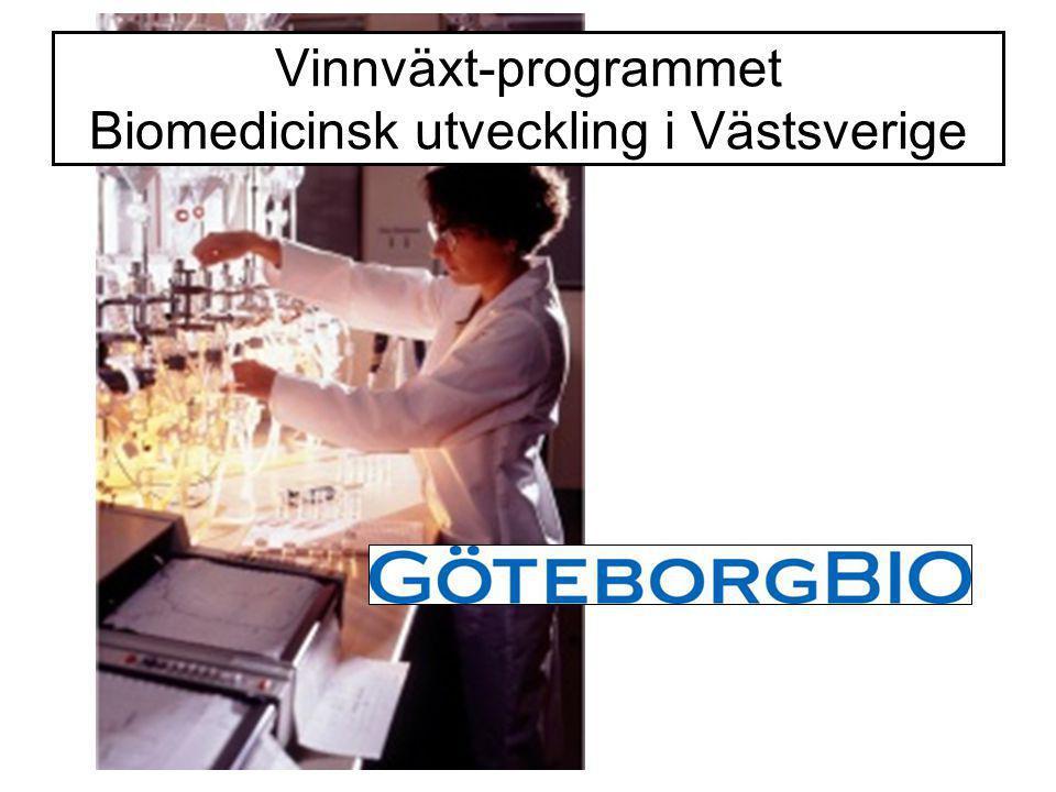 Vinnväxt-programmet Biomedicinsk utveckling i Västsverige
