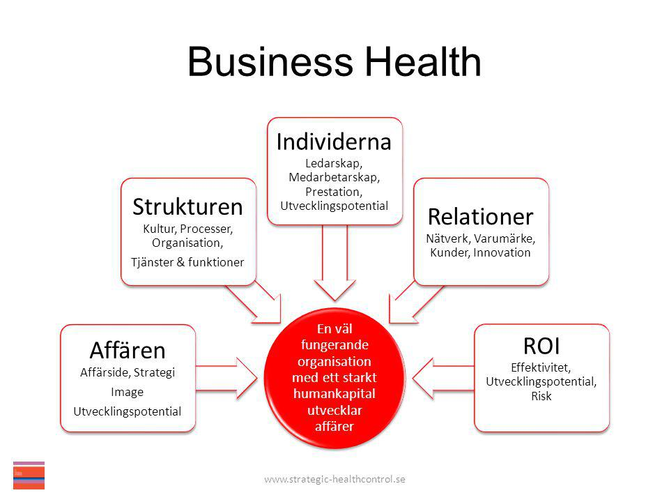 Business Health www.strategic-healthcontrol.se